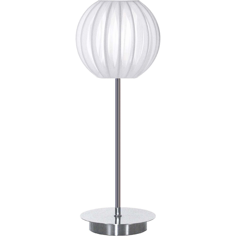 Globen Lighting Plastband Vit / Krom