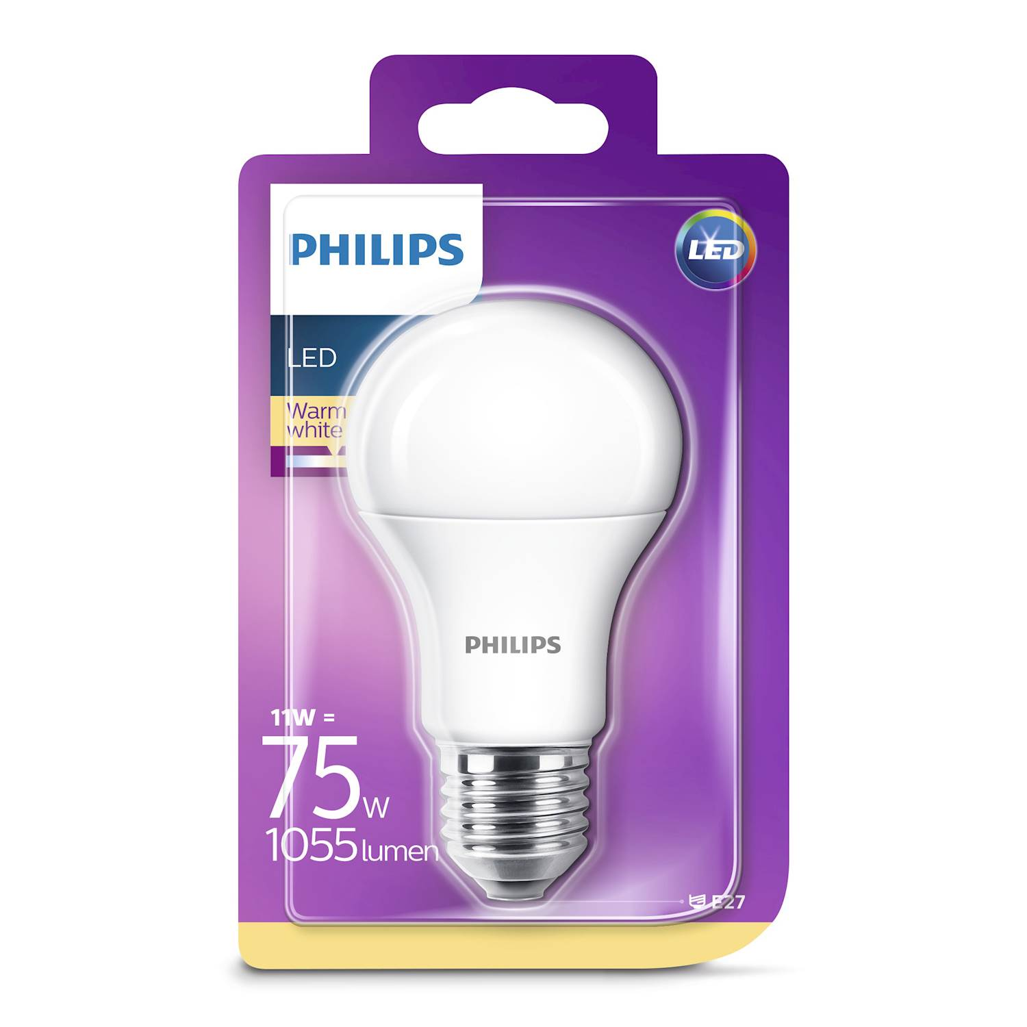 Philips LED NORMAL 11W E27 VV FR ND