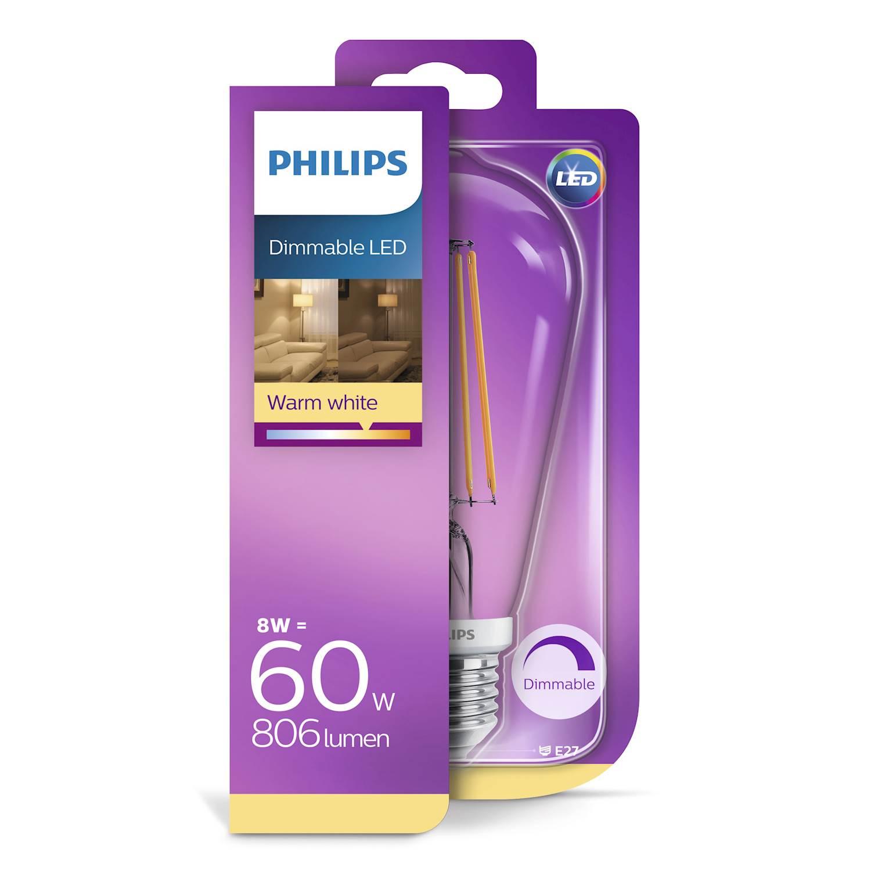 Philips LEDCL 7W NORM E27 VV KL D