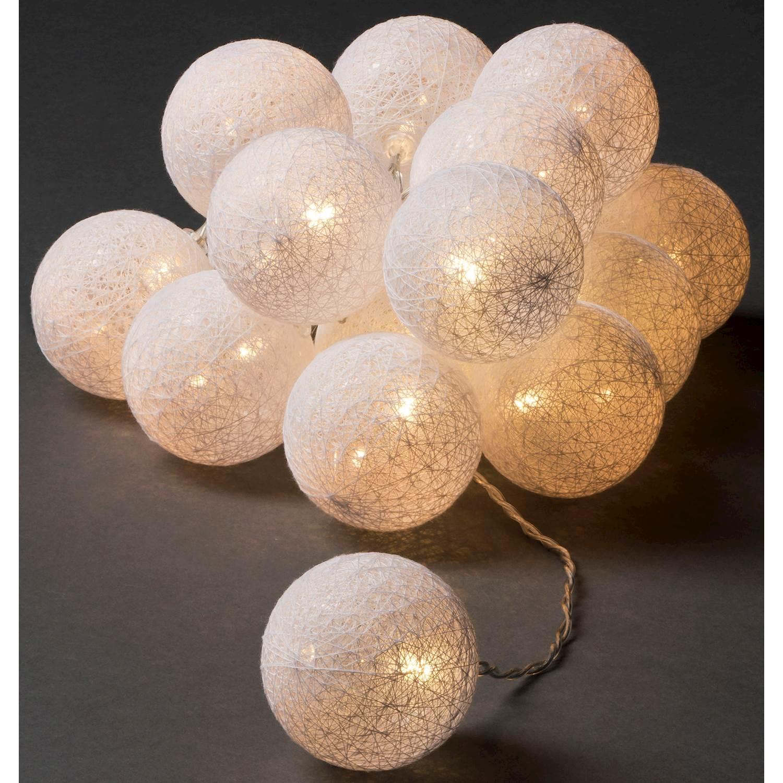 Konstsmide 16 garnbollar LED 3134-103