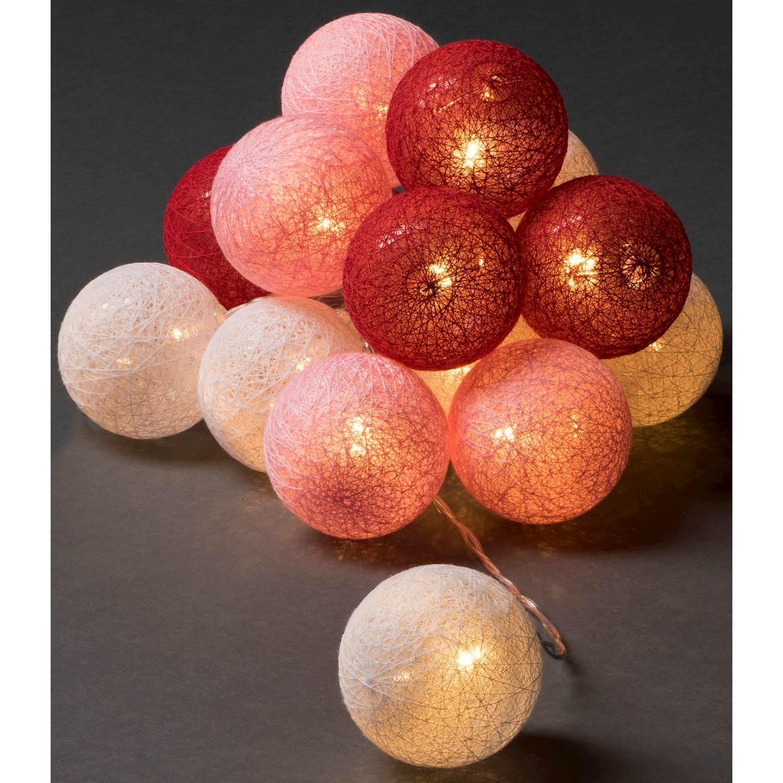 Konstsmide 16 garnbollar LED 3134-503