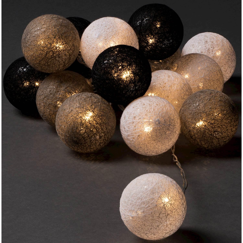 Konstsmide 16 garnbollar LED 3134-573