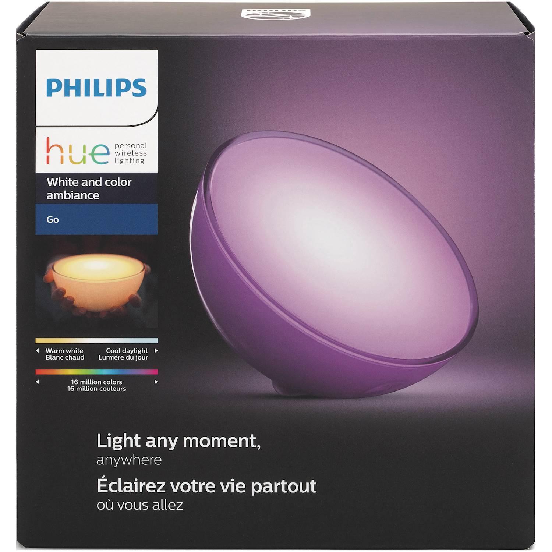 Philips Bordslampa HUE Go vit