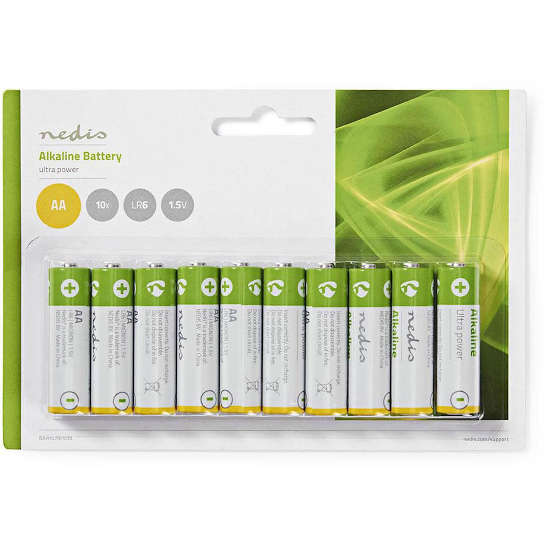 Nedis Batteri AA | 1.5 V | 10 st