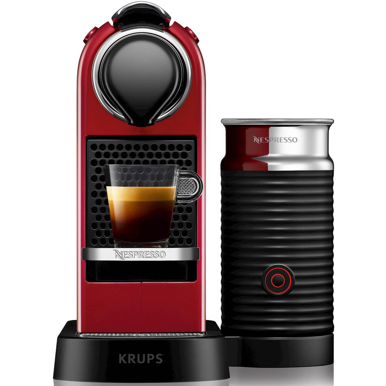Nespresso krups Citiz & Milk, 1,0 l., red