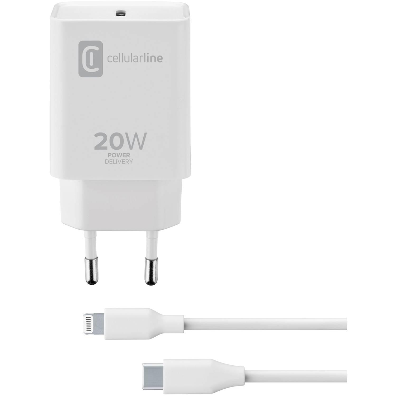 Cellularline Mobilladdare för Iphone 12-> U