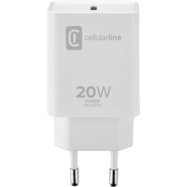 Cellularline Väggladdare USB-C 20w Iphone