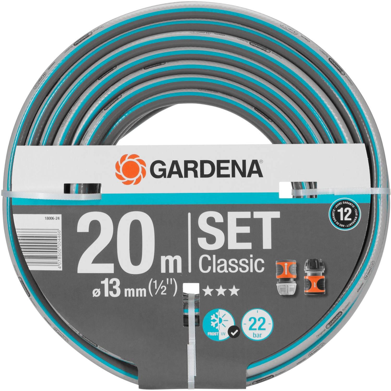 "Gardena Classic 20 m 1/2"" Set"